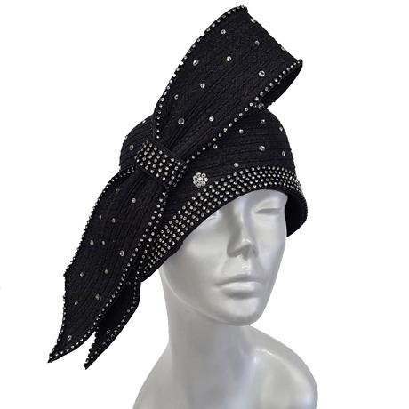 Swan Hats SW904733-Black