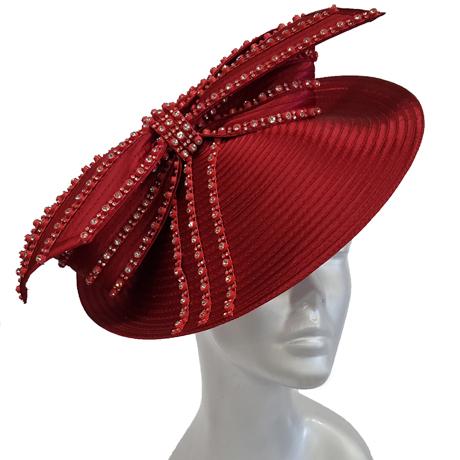 Swan Hats SW9044-Burgundy