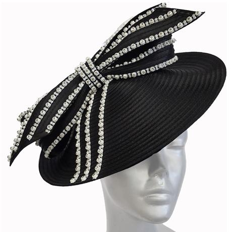 Swan Hats SW9044-Black