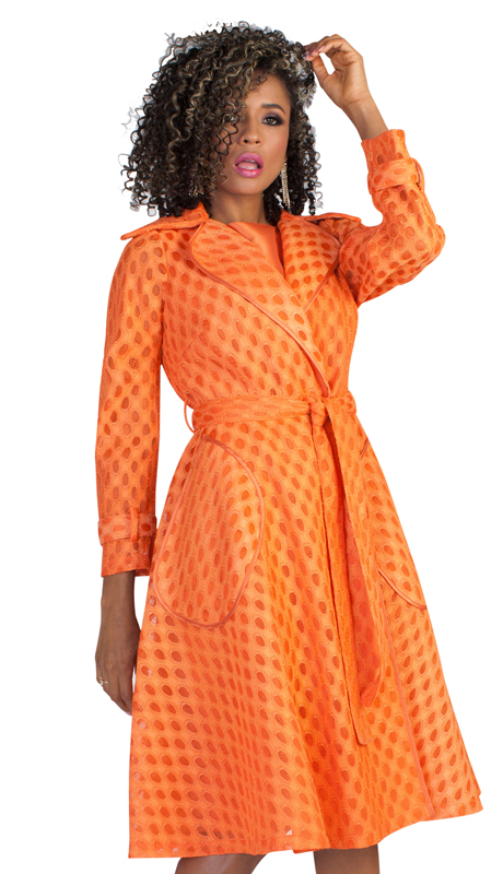 Tally Taylor 4638-BOR-IM ( 2pc Womens Novelty Church Dress With Laser Cut Out Design On Jacket And Waist Tie )