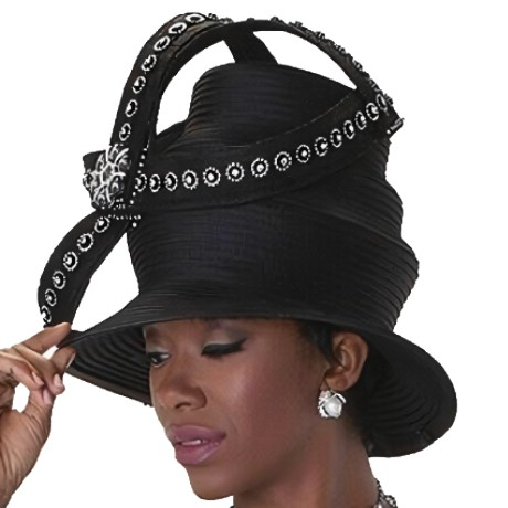 Tally Taylor H4545-BLK-Hat