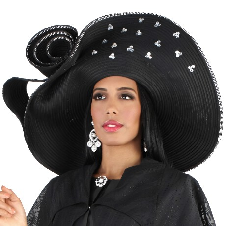 Tally Taylor H4668-BLK-Hat