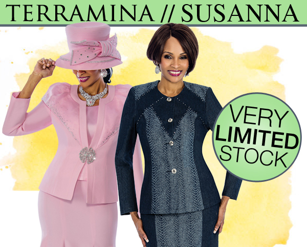 Womens Terramina And Susanna Closeout Suits And Dresses Fall And Holiday 2018