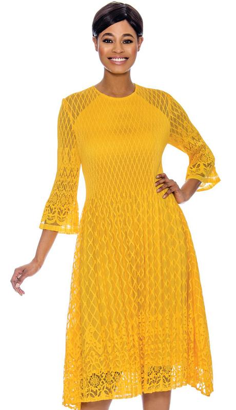 Terramina 7646-YE ( 1pc Dress )