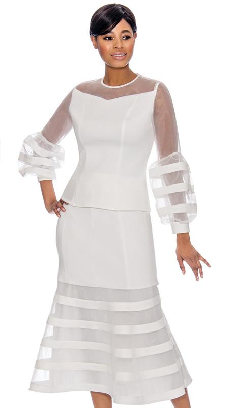 Terramina 7767 ( 2pc Skirt Suit )