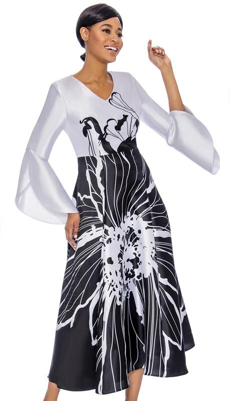Terramina 7760-BW ( 1pc Dress)