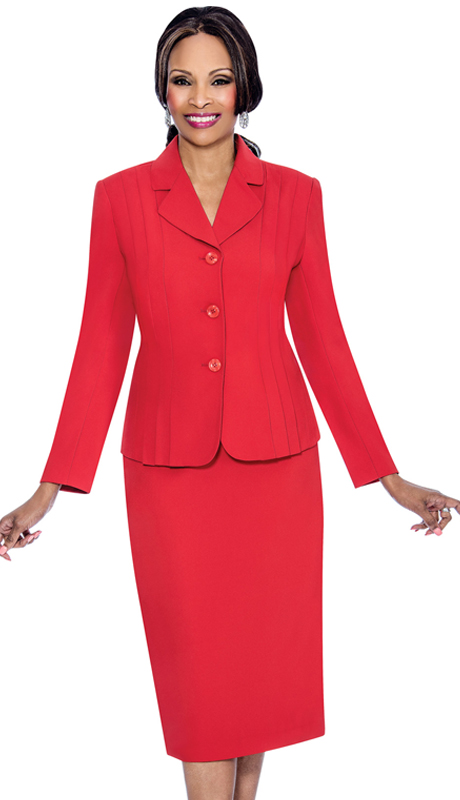 Terramina 7468-R ( 2pc Renova Ladies Church Suit )