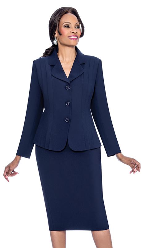 Terramina 7468-N ( 2pc Renova Ladies Church Suit )