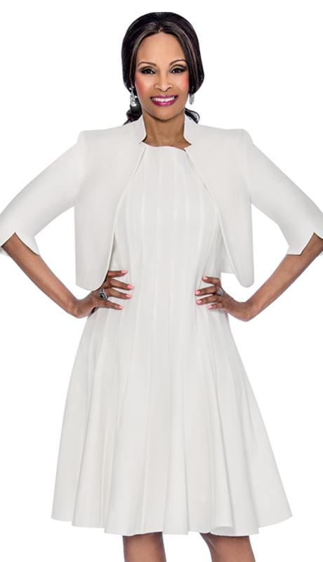 Terramina 7612-W ( 2pc Renova Ladies Church Dress )