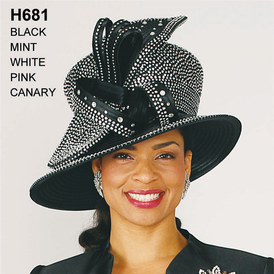 Lily And Taylor Hat H681-BL