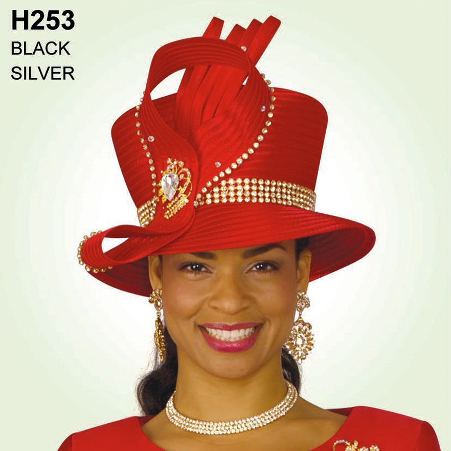 Lily And Taylor Hat H253-RE