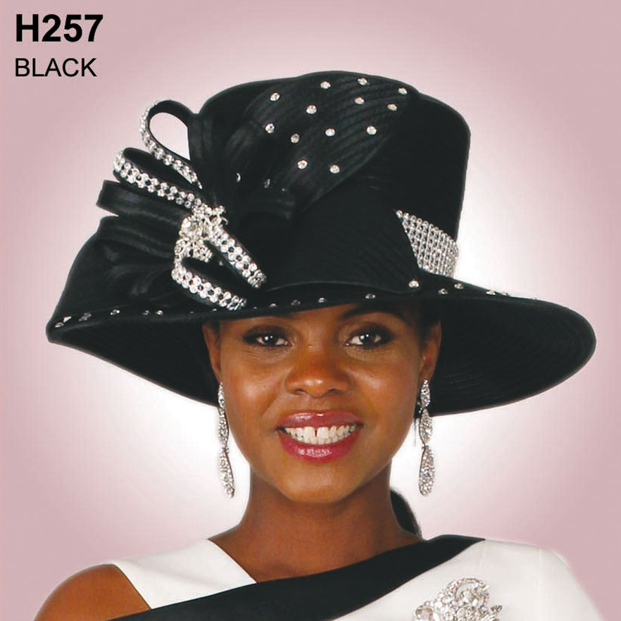 Lily And Taylor Hat H257-BL