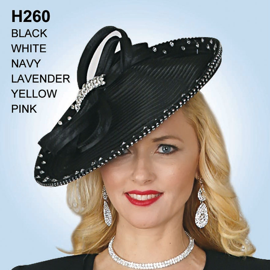 Lily And Taylor Hat H260-BL