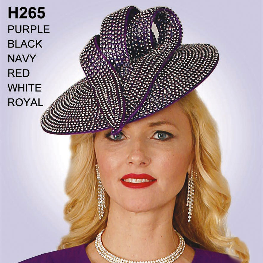 Lily And Taylor Hat H265-PU