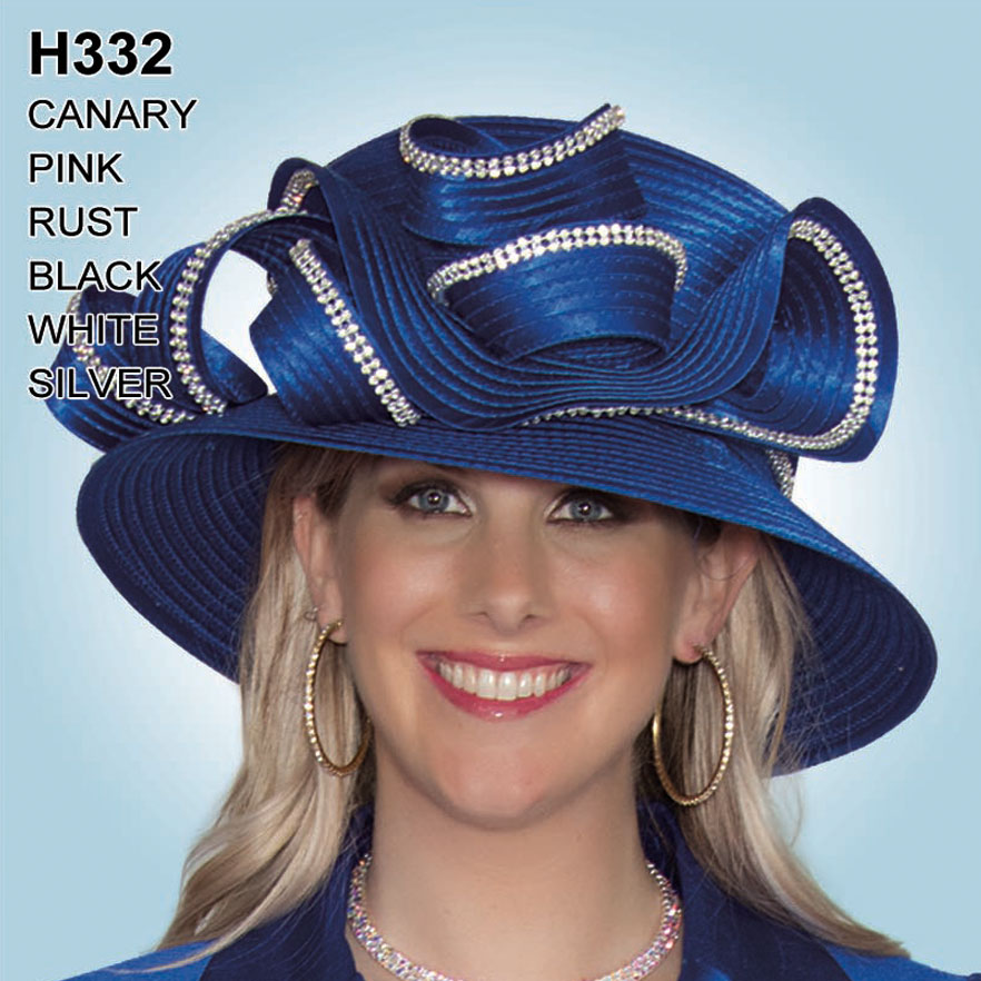 Lily And Taylor Hat H332-BL