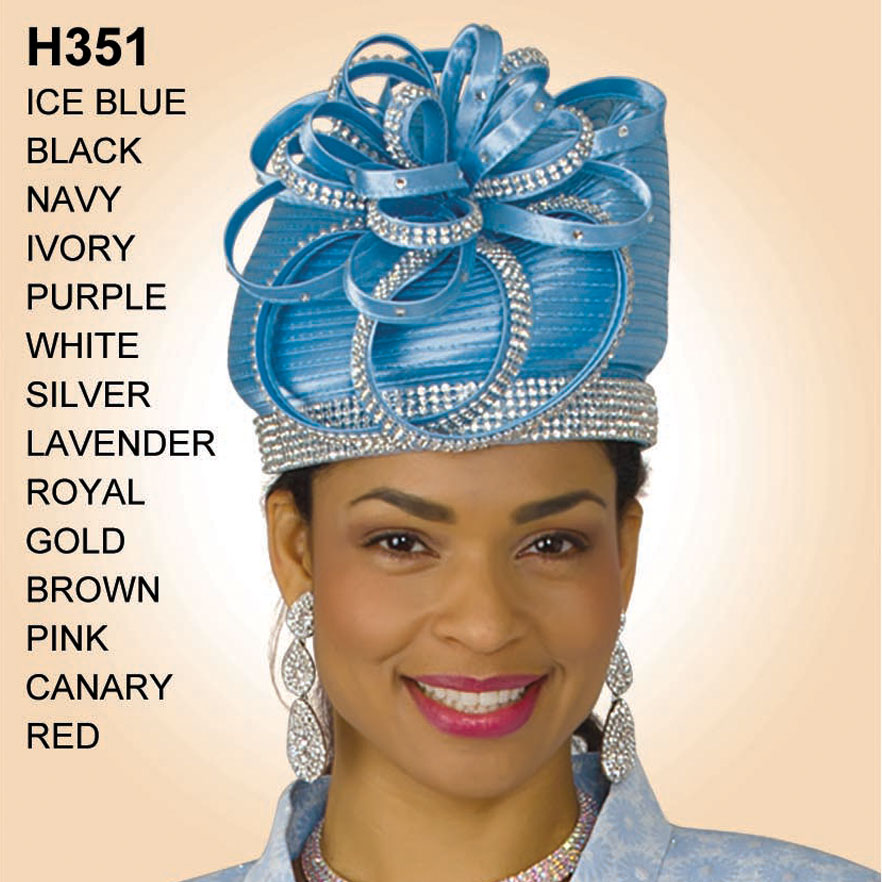 Lily And Taylor Hat H351-IB