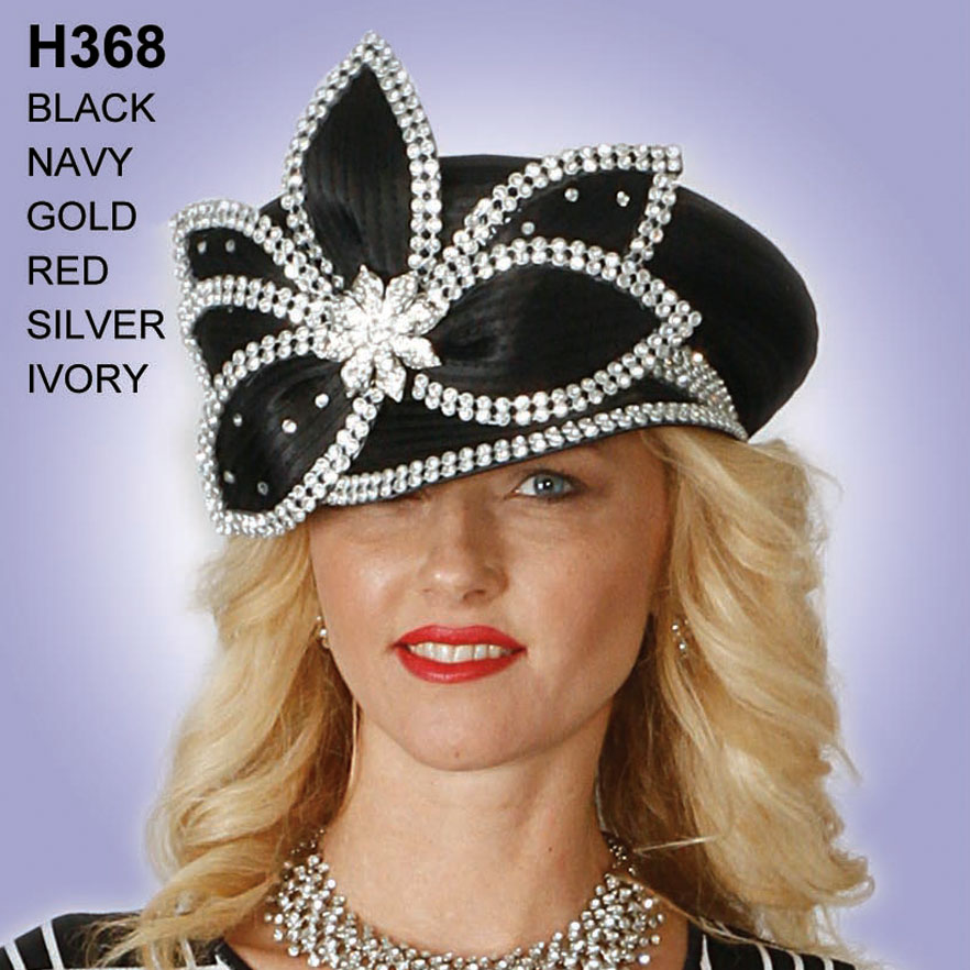 Lily And Taylor Hat H368-BL