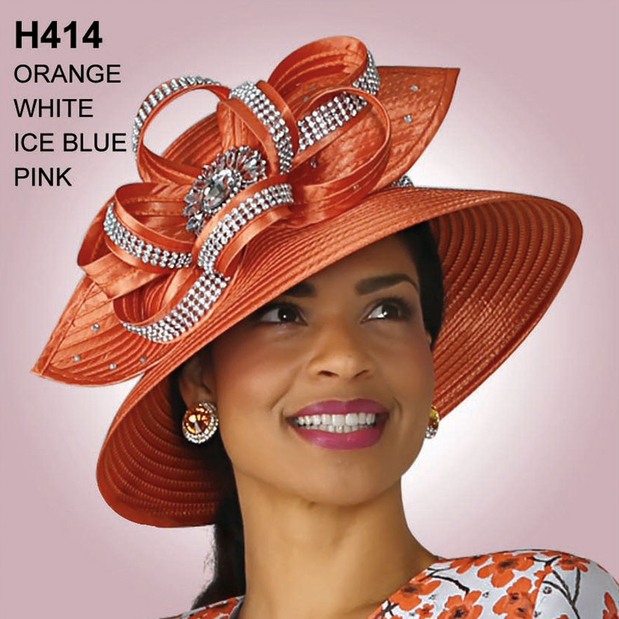 Lily And Taylor Hat H414-OR