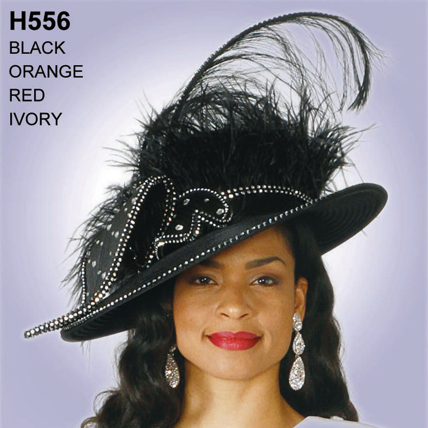 Lily And Taylor Hat H556-BL