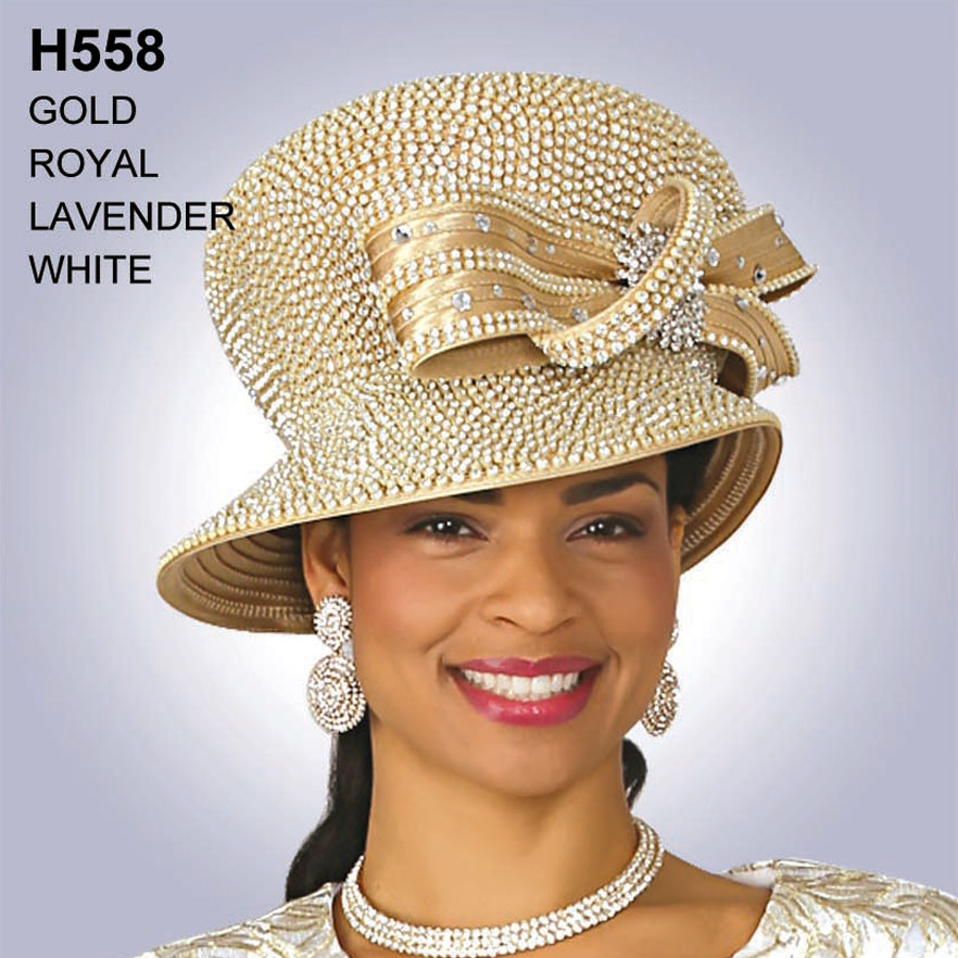Lily And Taylor Hat H558-GO