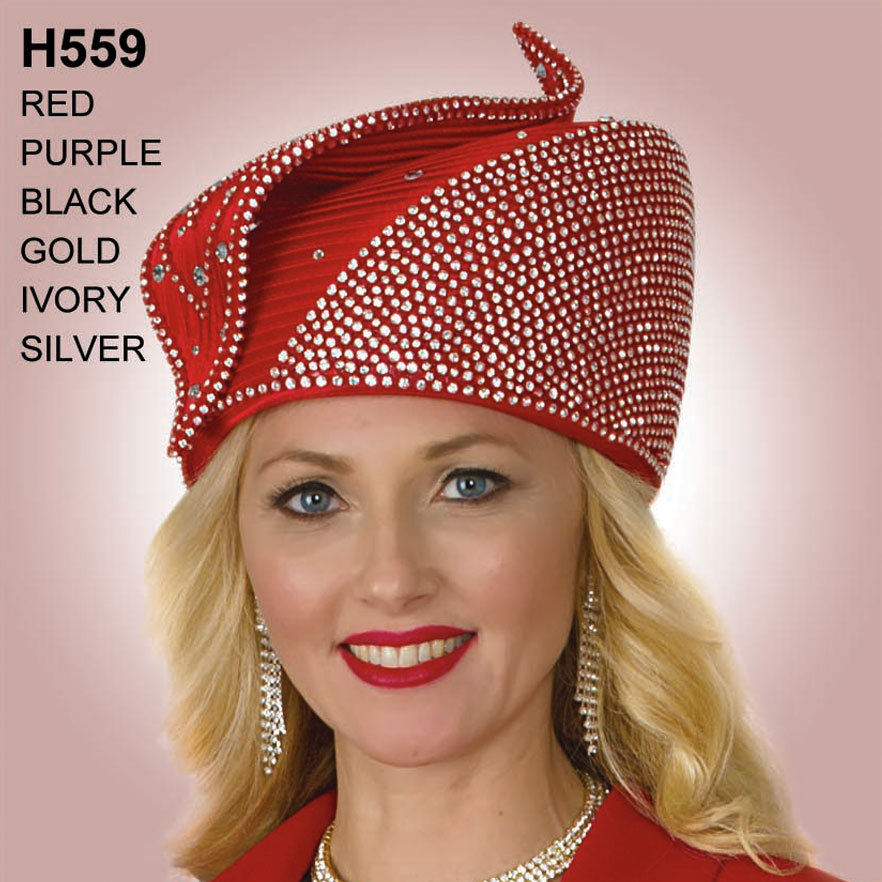 Lily And Taylor Hat H559-RE
