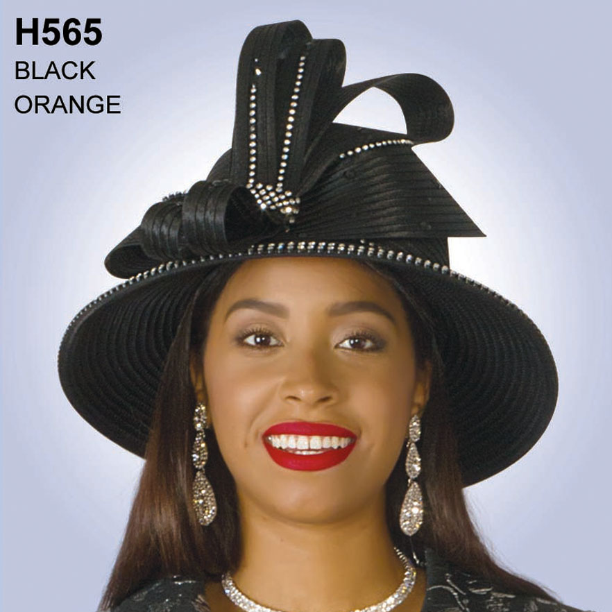 Lily And Taylor Hat H565-BL