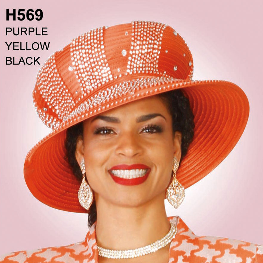 Lily And Taylor Hat H569-OR