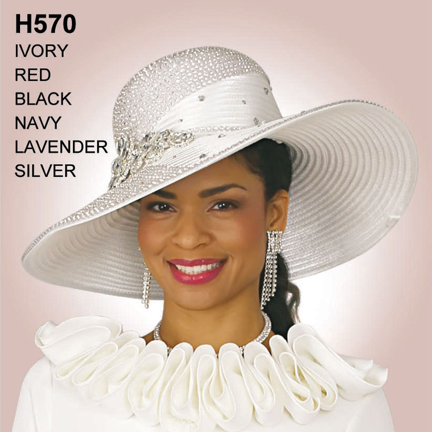 Lily And Taylor Hat H570-IV