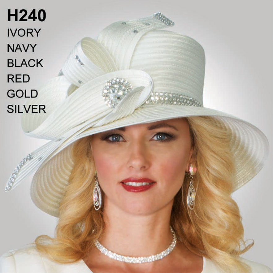 Lily And Taylor Hat H240-IV