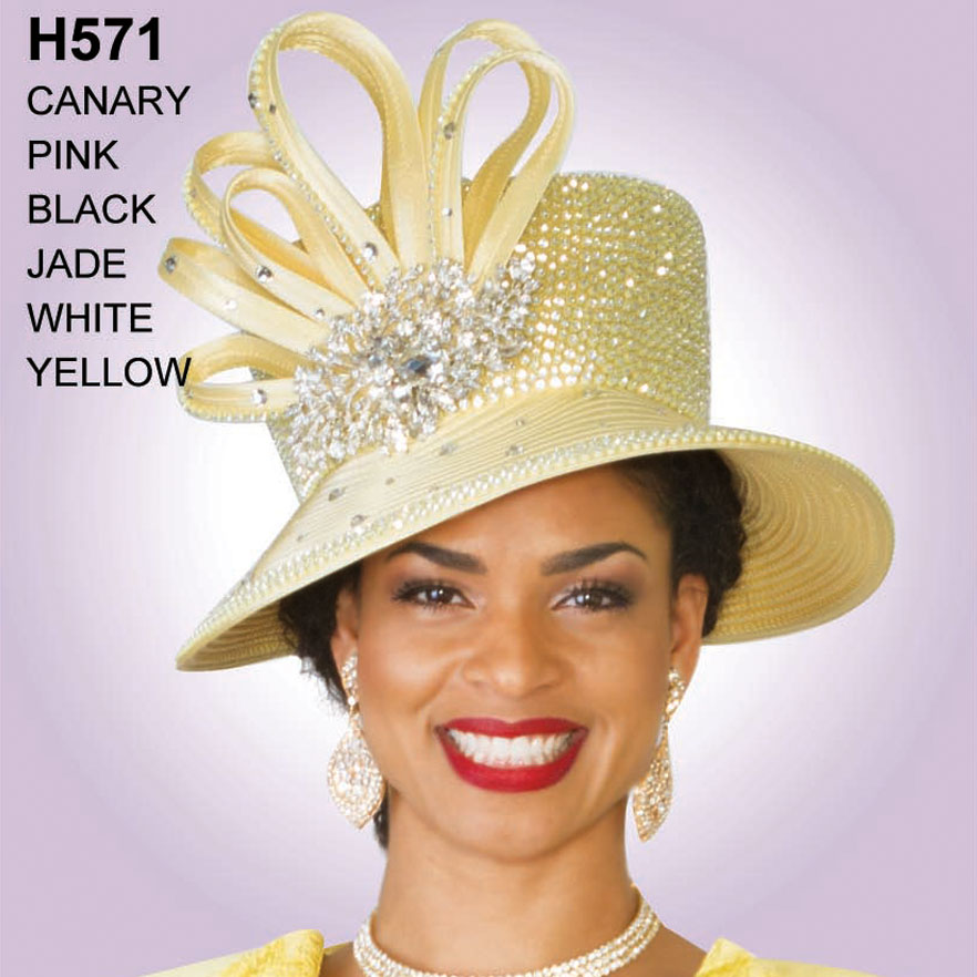 Lily And Taylor Hat H571-CA