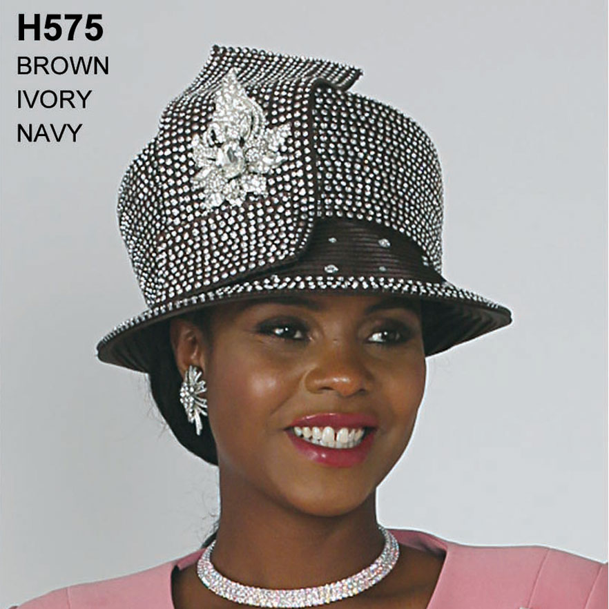 Lily And Taylor Hat H575-BR