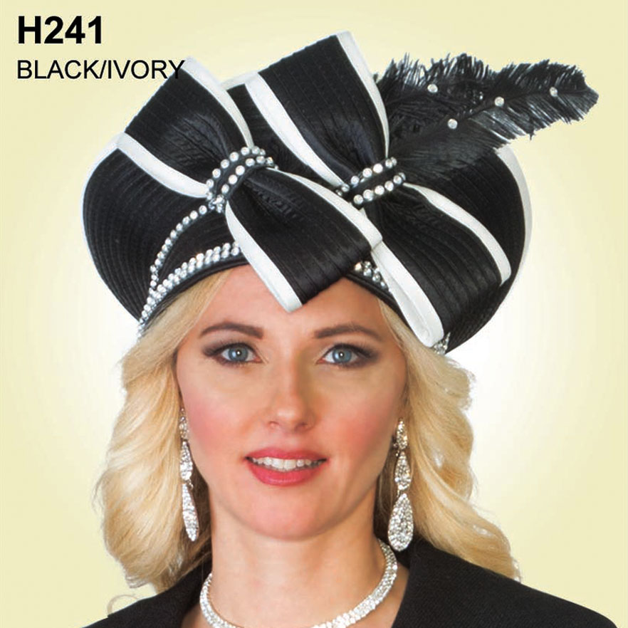 Lily And Taylor Hat H241-BL