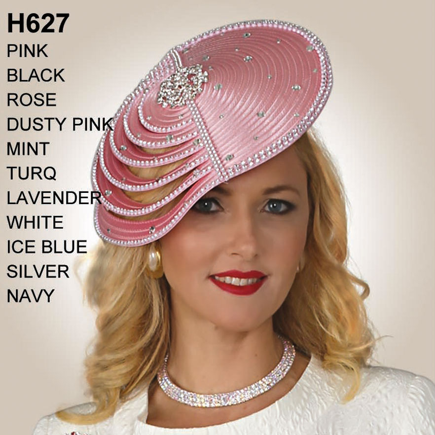 Lily And Taylor Hat H627-PI-IH