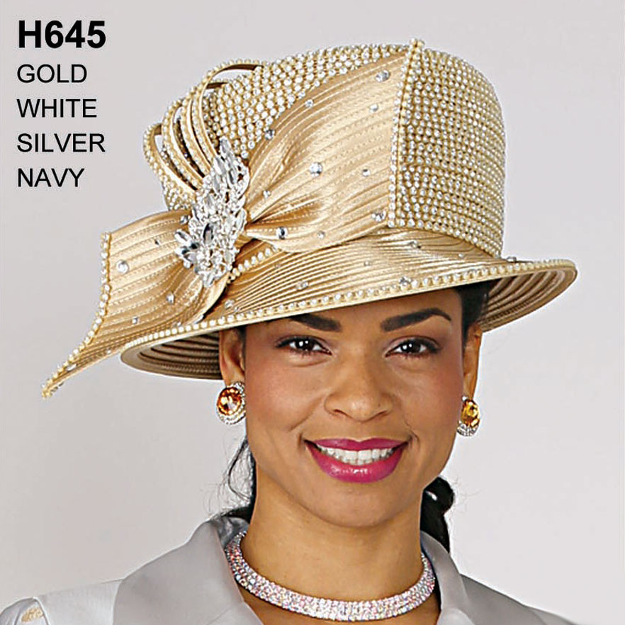 Lily And Taylor Hat H645-GO