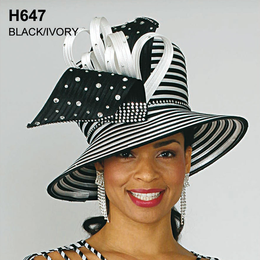 Lily And Taylor Hat H647-BL