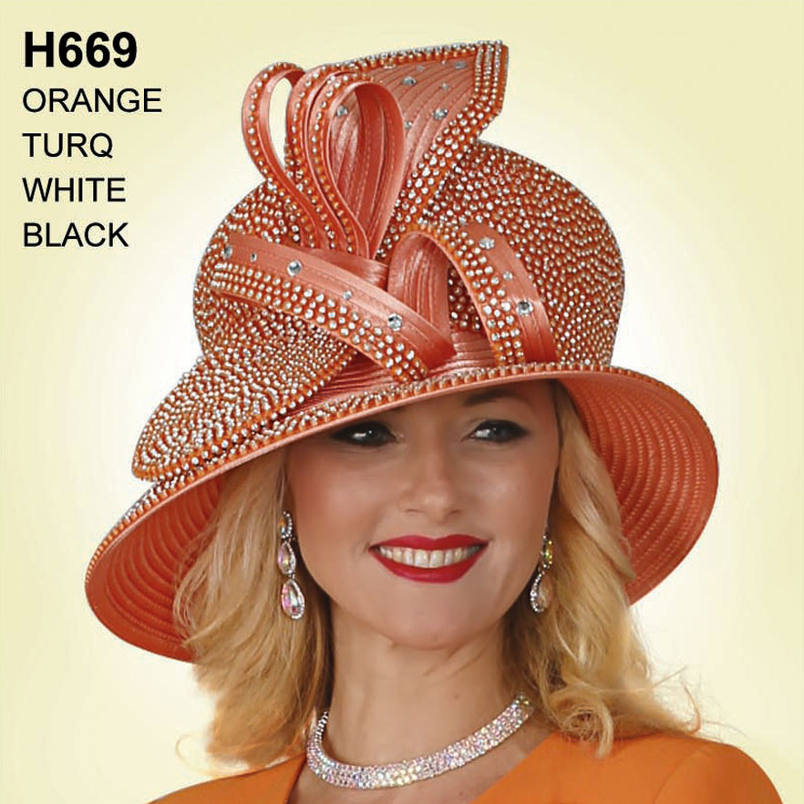 Lily And Taylor Hat H669-OR