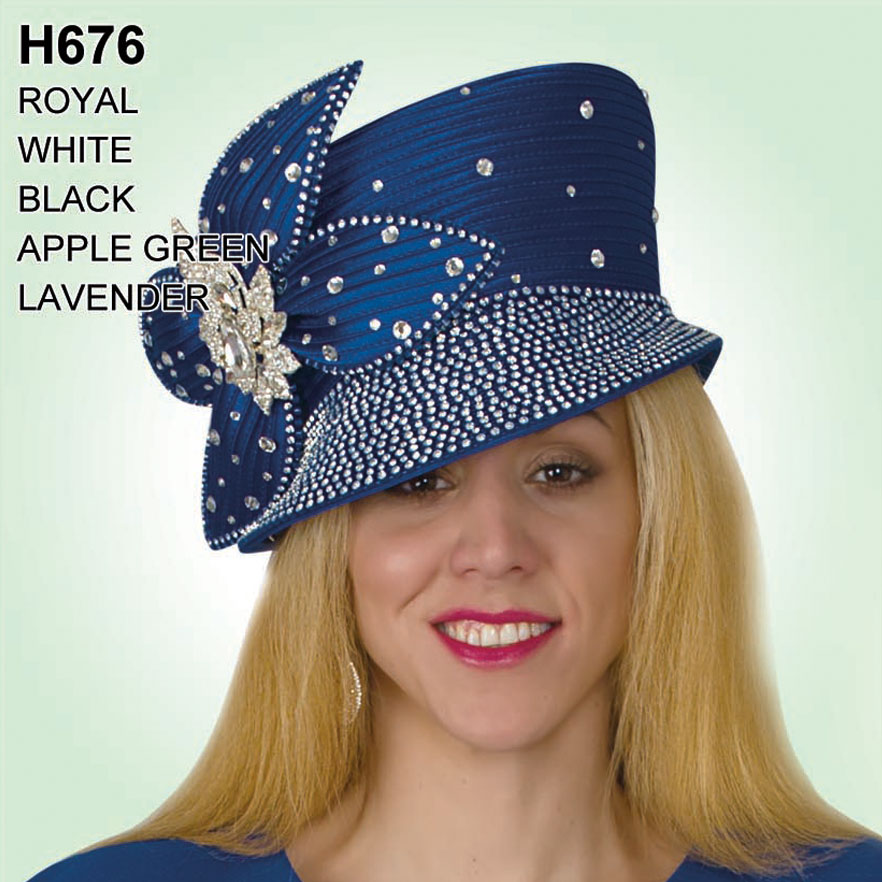 Lily And Taylor Hat H676-RO