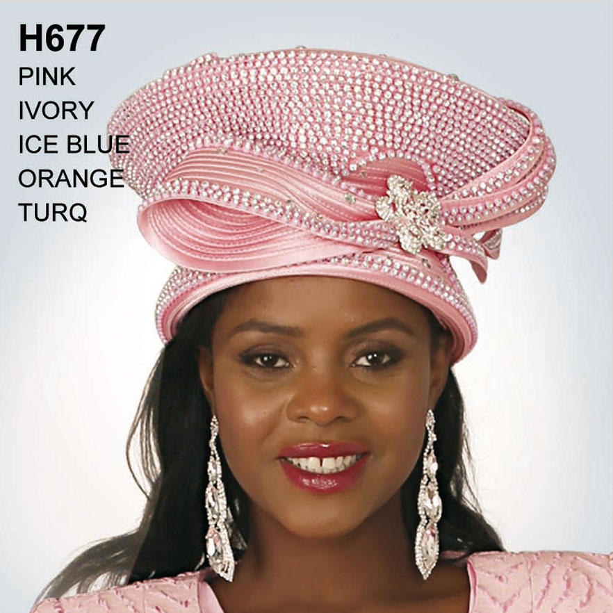 Lily And Taylor Hat H677-PI