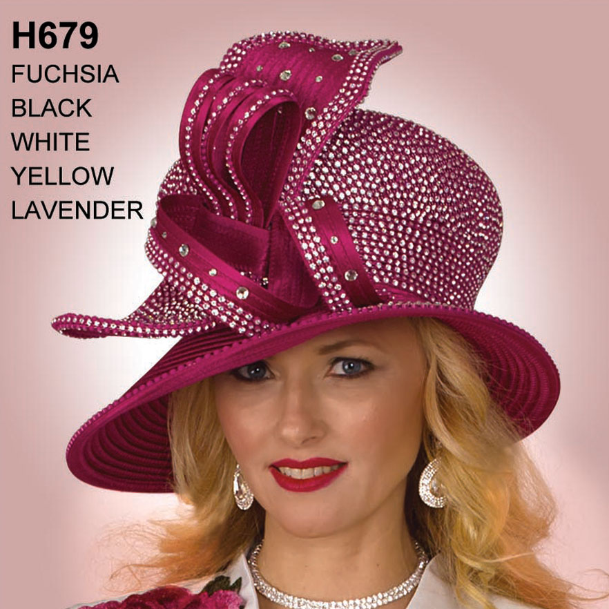 Lily And Taylor Hat H679-FU