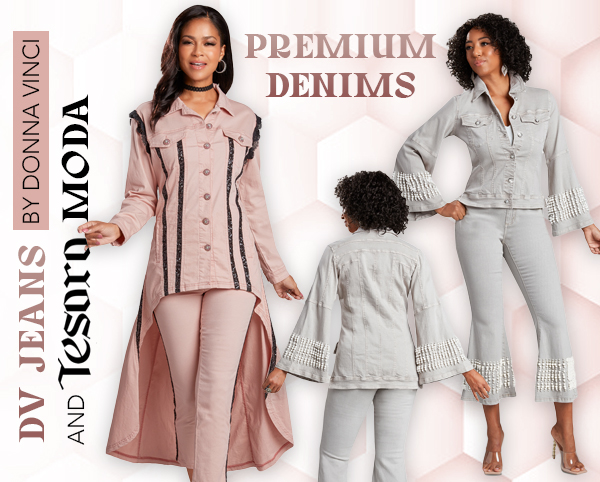 DV Jeans By Donna Vinci And Tesoro Moda Fall And Holiday 2020