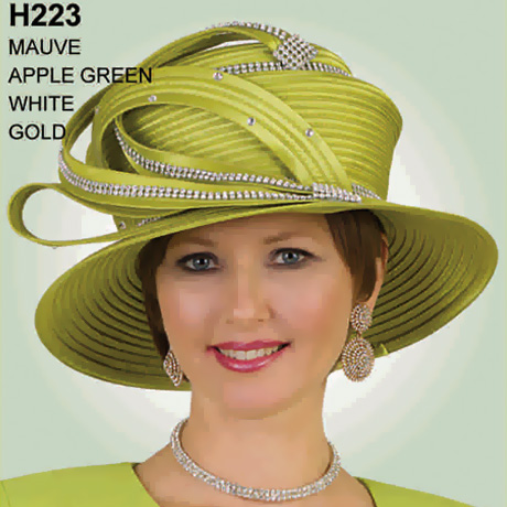 Lily And Taylor Hat H223