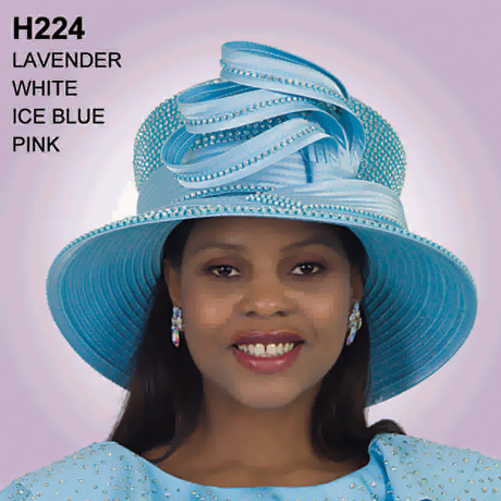 Lily And Taylor Hat H224