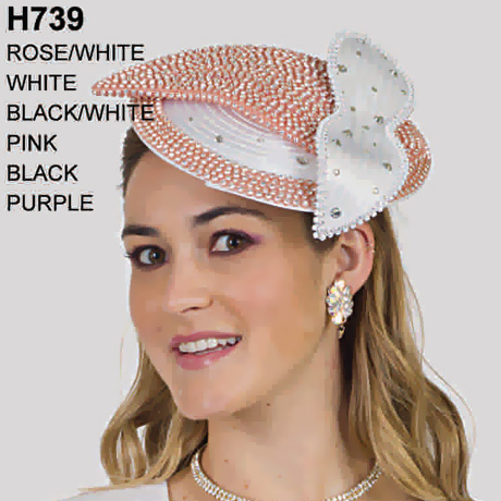 Lily And Taylor Hat H739