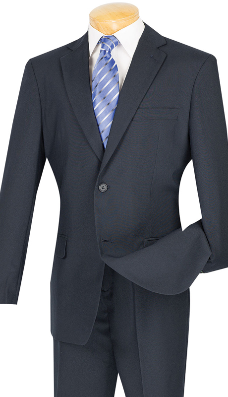 Men Suit RB609-CO ( 2pc Single Breasted, 2 Button And 2 Flap Pockets, Notch Lapels, Solid