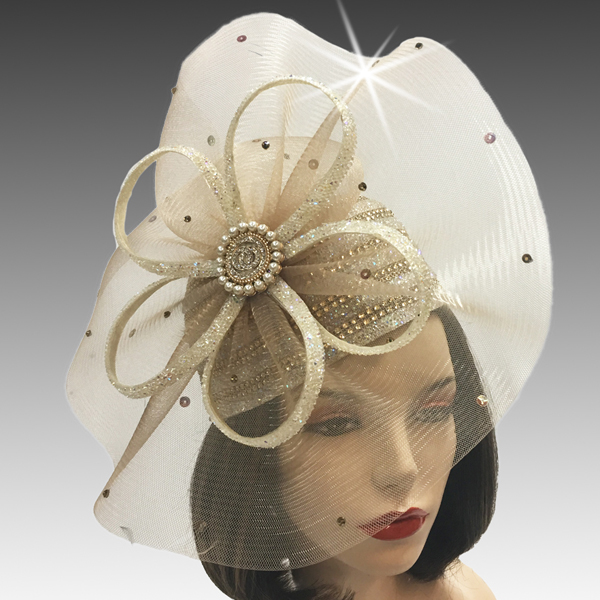 2425 Diamond Dust-GO ( Diamond Dust Bubble Hat With Pinwheel And Diamond Dust Loops )