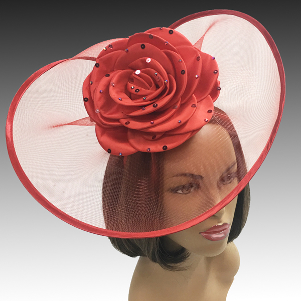 2001 Trevi-RE ( Fascinator Inspired By A Fanciful Cascade of Water With Dew Spinkled Rose )