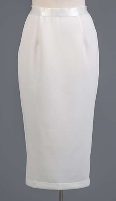 Why Collection S190121 ( 1pc Back Slit Scuba Pencil Skirt )