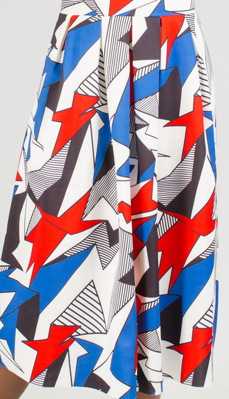 Why Collection S170094-MU ( 1pc Print Skirt )