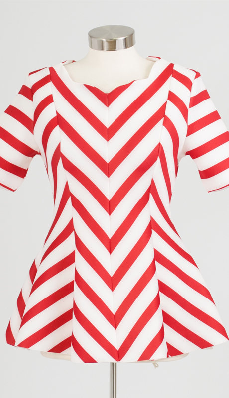 Why Collection T0189 ( 1pc Chevron Top )
