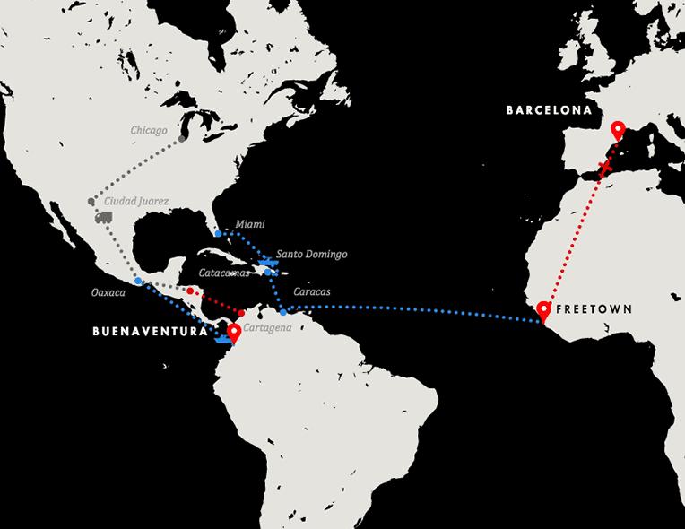 Resultado de imagen para Lazos narco entre la Argentina y África